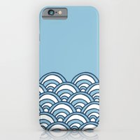 iPhone & iPod Case featuring Waves by Project M