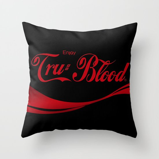 Can't Beat The Real Thing ;) Throw Pillow