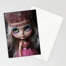 Pink Custom Blythe Darling Diva Art Doll Stationery Cards