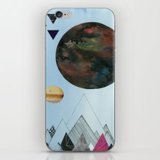 Moons and Mountains iPhone & iPod Skin