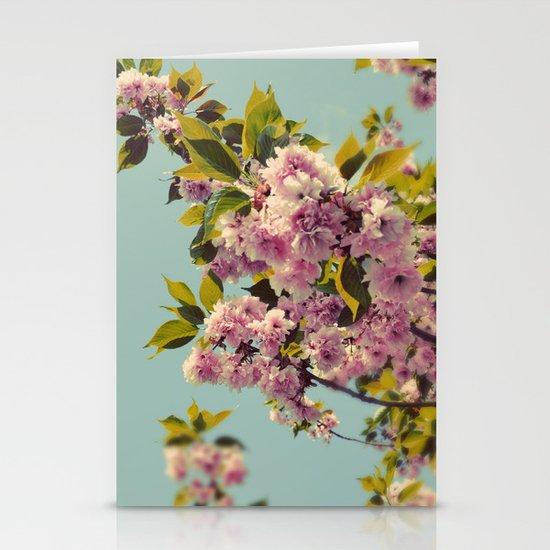 Spring Fever Stationery Card