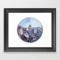 Galata Sphere Framed Art Print