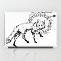 Fox King iPad Case