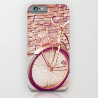 iPhone & iPod Case featuring Rusty Spokes by Diem Design