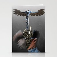 Freedom of the mind Stationery Cards