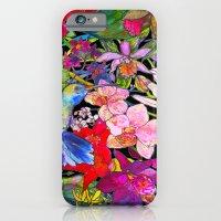 Hummingbirds Black iPhone 6 Slim Case