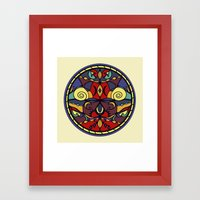 Surface Symmetry Framed Art Print