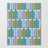 Arboretum | Leafy Greens Canvas Print