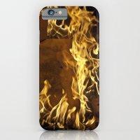Fiery footprints  iPhone 6 Slim Case