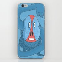 The S Baboon  iPhone & iPod Skin