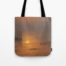 Sunrise on the Horicon Marsh Tote Bag