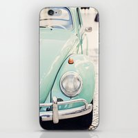 Escarabajo Turquesa. iPhone & iPod Skin
