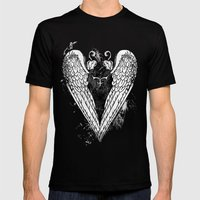 Punk Heart Mens Fitted Tee Black SMALL