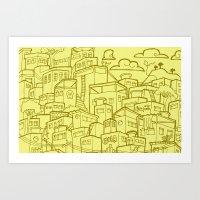 #MoleskineDaily_35 Art Print