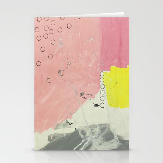 Abstract painting 2 Stationery Card
