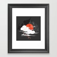 Uncharted Voyage Framed Art Print