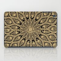 Delicate Golds iPad Case