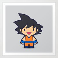 FunSized GoKu Art Print