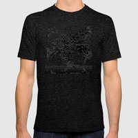 Lionfish Mens Fitted Tee Tri-Black SMALL