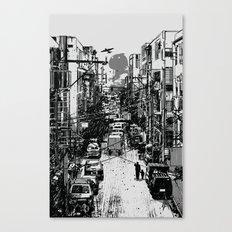 Something In Between Canvas Print