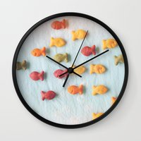 Plenty of Fish Wall Clock