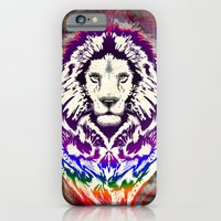 Lion Psychedelic Pop Art iPhone 6 Slim Case