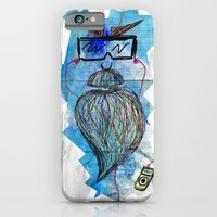 iPhone & iPod Case featuring Bearded man by Li9z