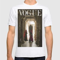 VOGUE INDIA Mens Fitted Tee Ash Grey SMALL