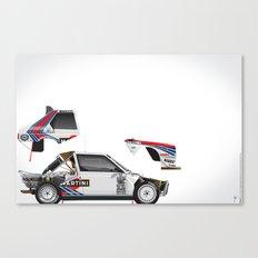 Henri Toivonen-Sergio Cresto, Lancia Delta S4, 1986 Canvas Print