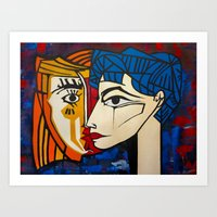 Jacqueline Art Print