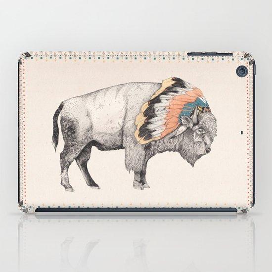 White Bison iPad Case