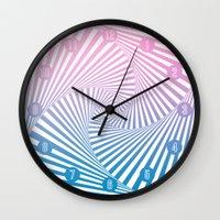 Barika Summer Twista Wall Clock