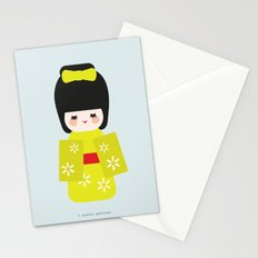 Kokeshi Stationery Cards