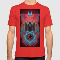 The Secret Keepers of Dagon Mens Fitted Tee Red SMALL