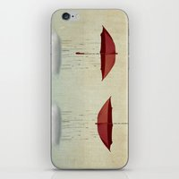 Embracing The Rain iPhone & iPod Skin