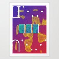 Contagion Art Print
