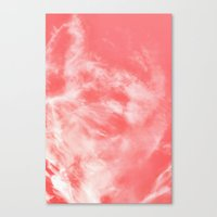 Canvas Print featuring Sky Dye by Francesca Siano