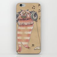 MUSIC MONSTER iPhone & iPod Skin