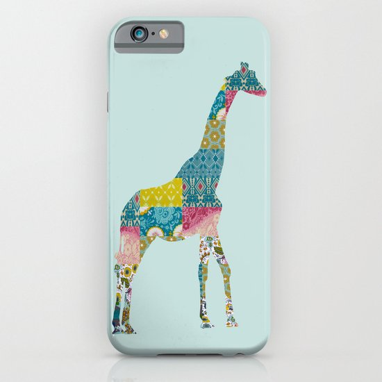 Patchwork Giraffe iPhone & iPod Case
