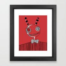 Mister Friend Framed Art Print