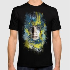 Shutter Mens Fitted Tee Black SMALL