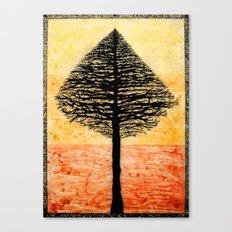 Tree Top. Canvas Print