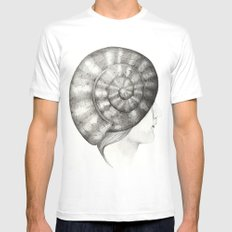 Caracola Mens Fitted Tee SMALL White