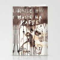 Must Have Coffee Stationery Cards