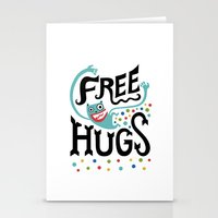Free Hugs Stationery Cards