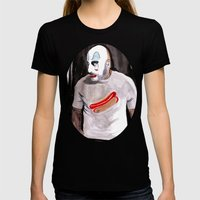 Come On Down To Captain Spaulding's Museum Of Monsters And Mad-Men  Womens Fitted Tee Black SMALL