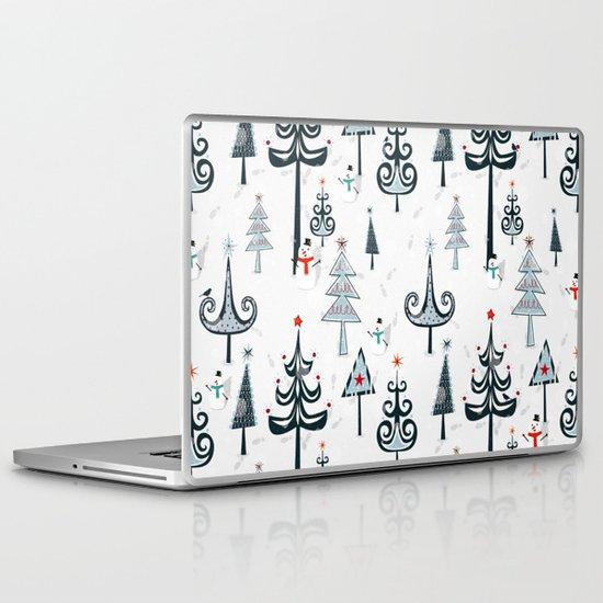 Christmas Tree Forest Laptop & iPad Skin