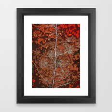 GROWN AND HAPPY Framed Art Print