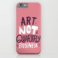 Art is Not... iPhone 6 Slim Case