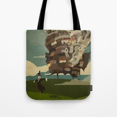 Moving Castle Tote Bag